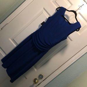 Nine West Cocktail Dress Regal Blue Size 10 NWT
